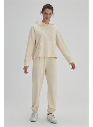 Dagi Pijama Üst Krem